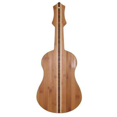 Totally Bamboo Ukelele Shape 1-Piece Cutting Board