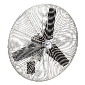 Ventamatic 30 inch High-Velocity Oscillating Wall Mount Fan by Ventamatic
