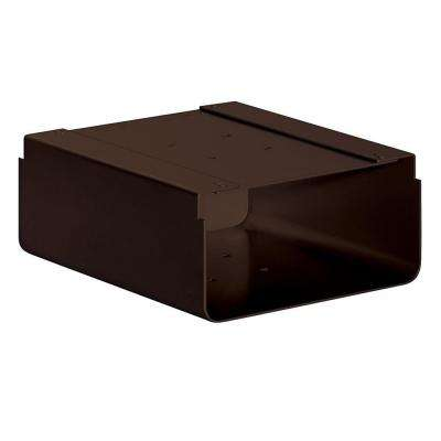 Newspaper Holder for Designer Roadside Mailbox, Bronze