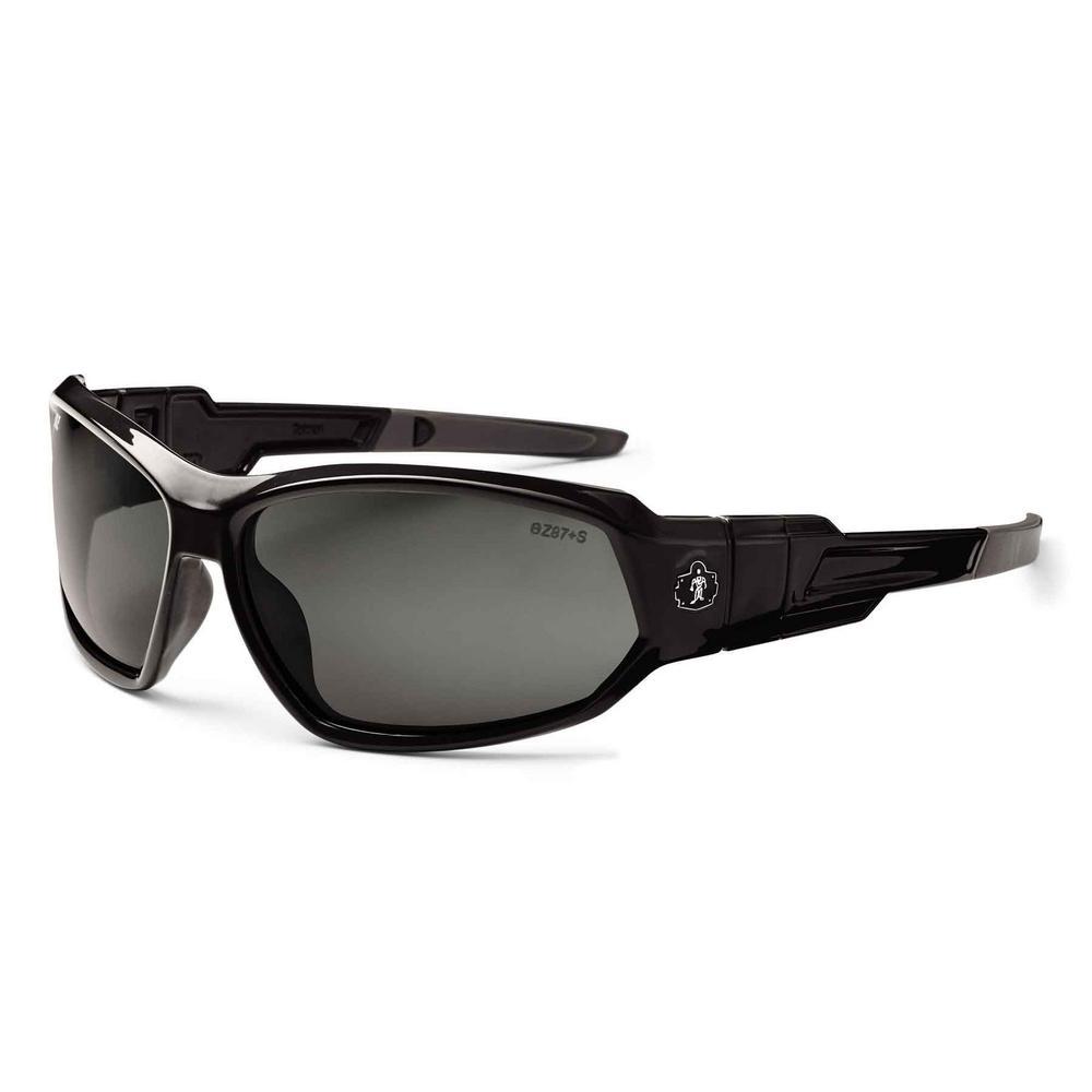 840e033731 Ergodyne Skullerz Loki Black Polarized Safety Glasses   Goggles ...