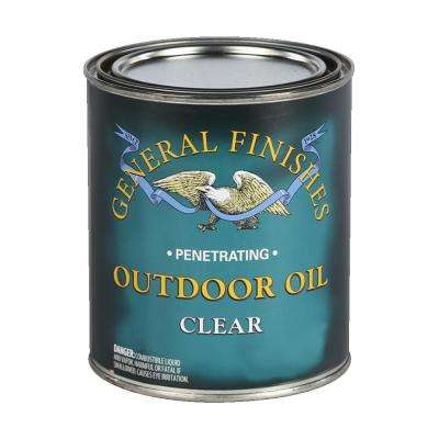 1 qt. Clear Outdoor Wood Oil