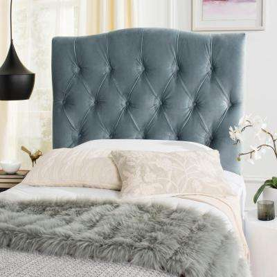 Axel Wedgewood Blue Twin Tufted Headboard