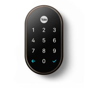 Nest Nest X Yale Lock Oil Rubbed Bronze With Nest Connect