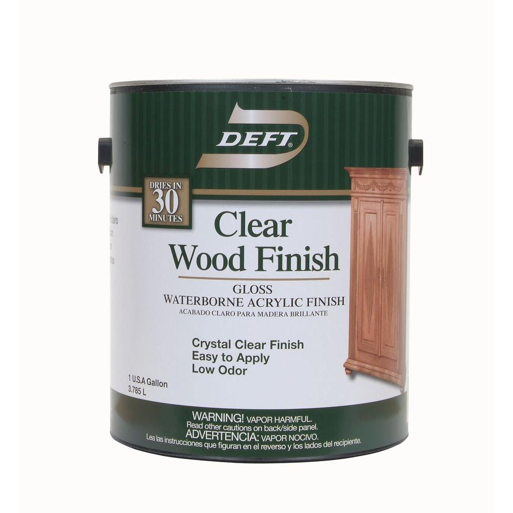 Clear Wood Deck Stain Exterior Stain Waterproofing The Home Depot