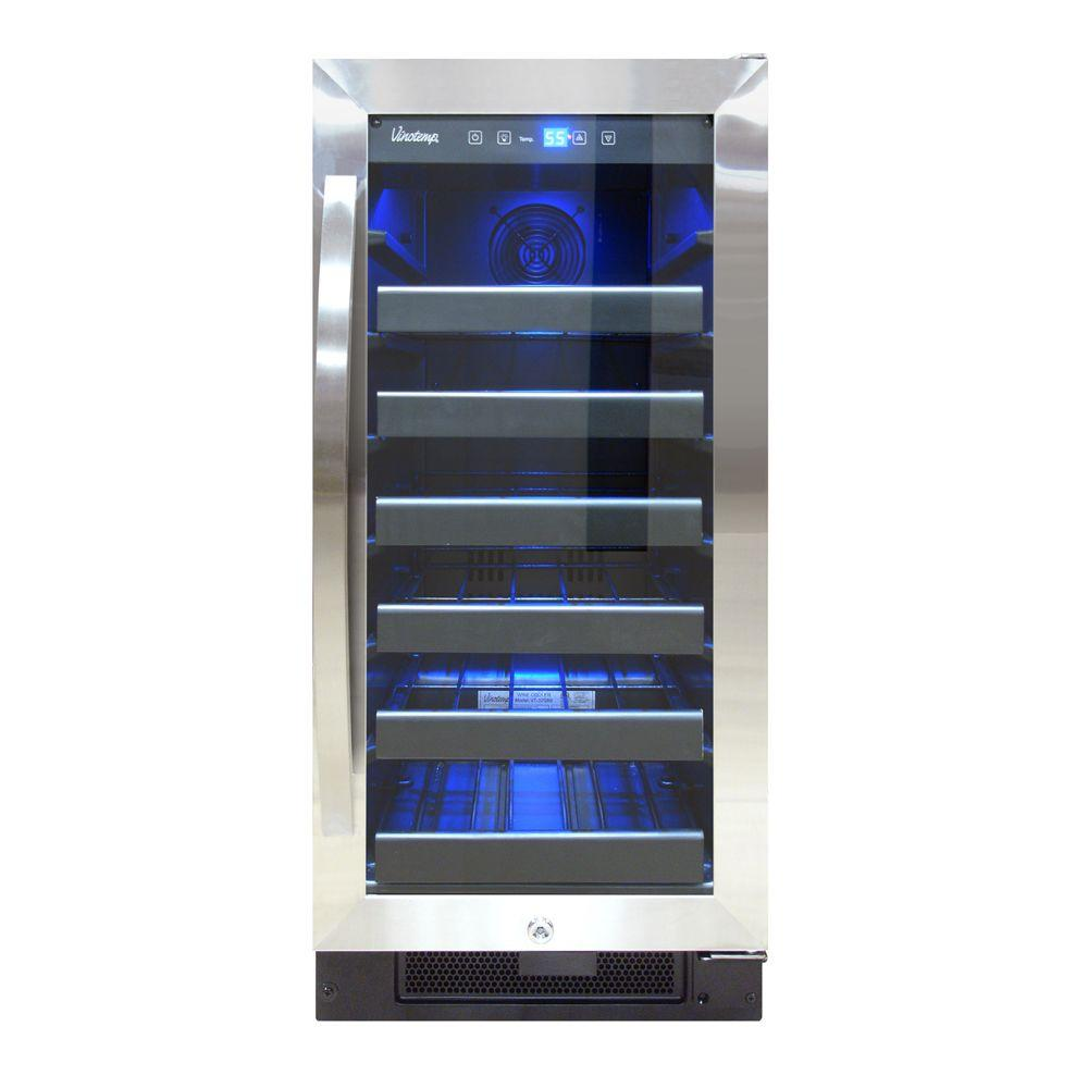 30-Bottle Single Zone Wine Cooler