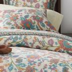 The Company Store Deerfield Garden Multi Cotton Queen Duvet Cover