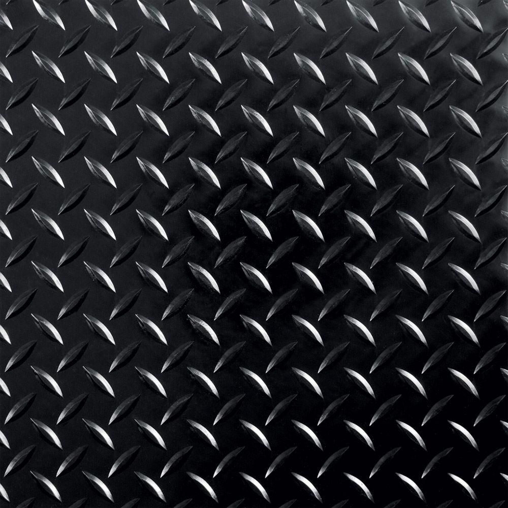 G floor raceday 12 in x 12 in peel and stick diamond tread g floor raceday 12 in x 12 in peel and stick diamond tread midnight black polyvinyl tile 20 sq ft case t95dt12mb20p3 the home depot dailygadgetfo Image collections