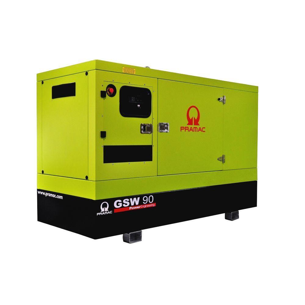 null 102,000-Watt 284-Amp Liquid Cooled Diesel Standby Generator