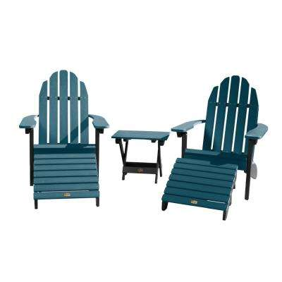 Essential Shale 5-Piece Recycled Plastic Outdoor Seating Set