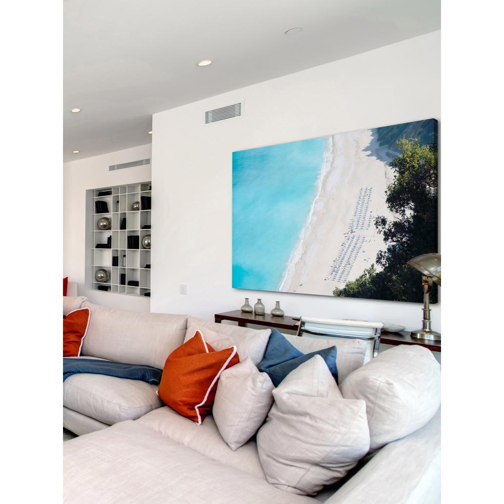 C Beach Background Art Print Home Decor Wall Art Poster
