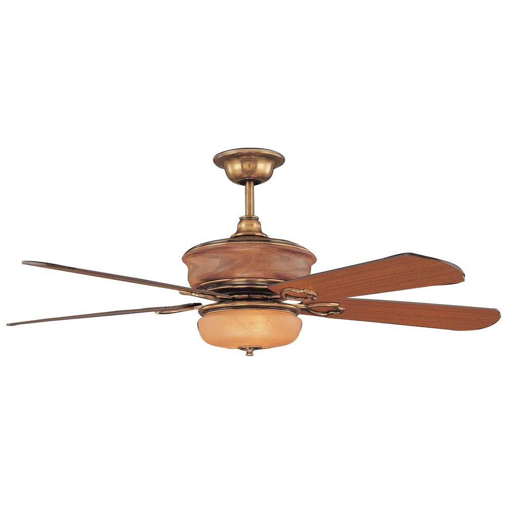 Illumine 2-Light Ceiling Fan Polished Brass-DISCONTINUED