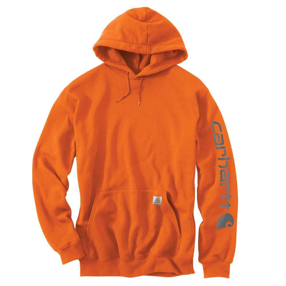 Men's Regular XXX Large Orange Cotton/Polyester  Sweats