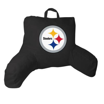 Standard Steelers Polyester Bed Rest Pillow