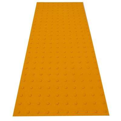 RampUp 24 in. x 5 ft. Federal Yellow ADA Warning Detectable Tile
