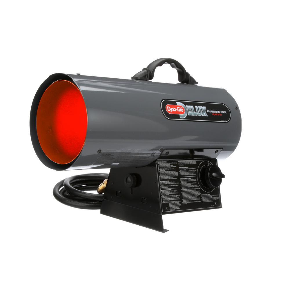Dyna-Glo Delux 40K BTU Forced Air Propane Portable Heater