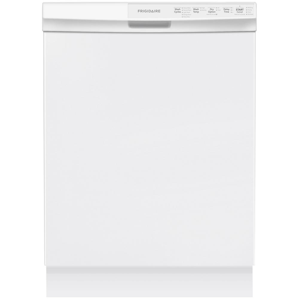 Frigidaire front control dishwasher in stainless steel energy front control built in tall tub dishwasher in white energy star frigidaire rubansaba