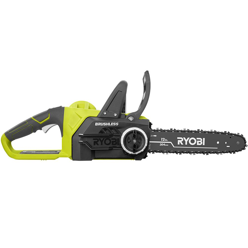 Electric Cordless Chainsaw 12 Inch ONE+ 18 Volt Lithium
