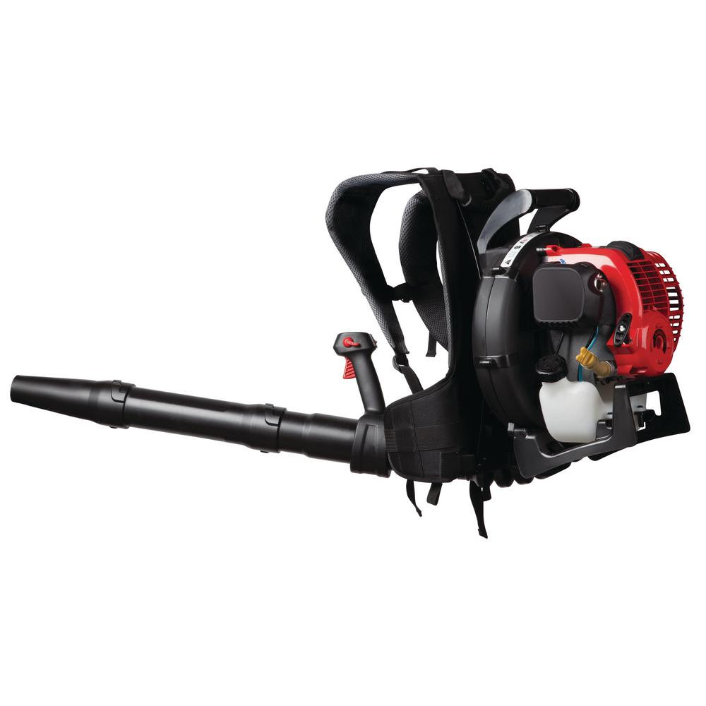 Troy-Bilt 150 MPH 500 CFM 4-Cycle 32cc Gas Backpack Leaf Blower with JumpStart Capabilities