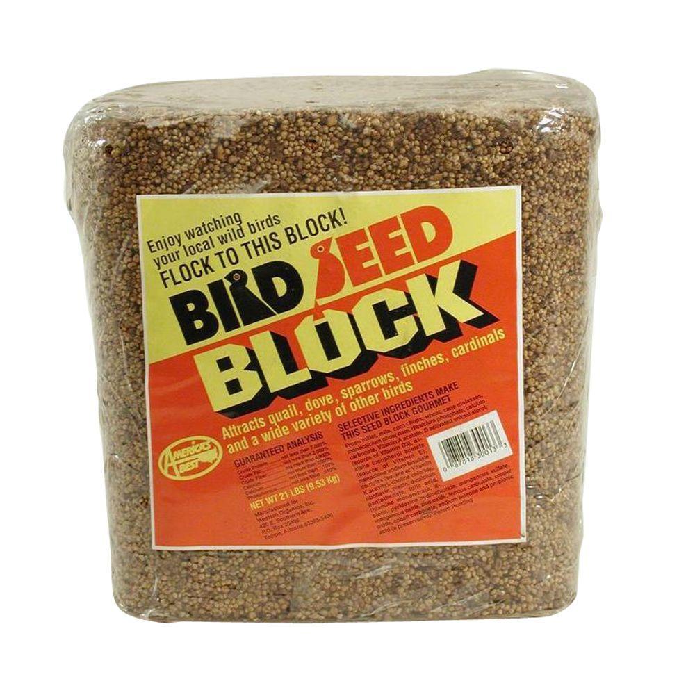 21 lb. Wild Bird Millet Seed Block