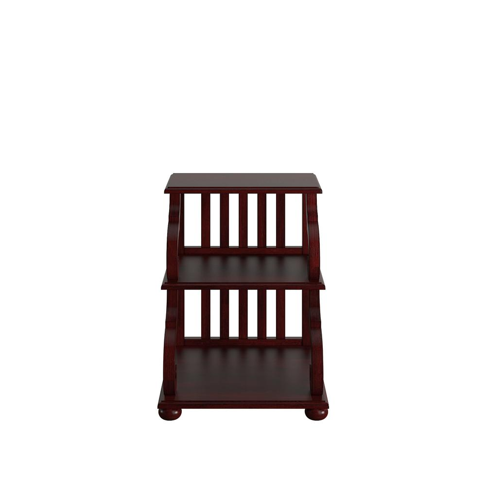 Gentil HomeSullivan Kelsey Rich Berry Tiered Accent Table