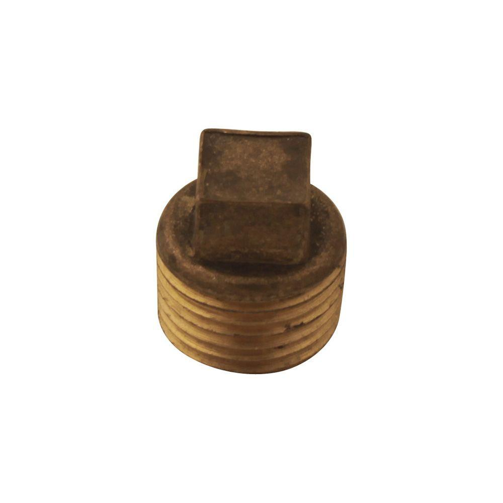 1/2 in. Brass Plug for Pipe