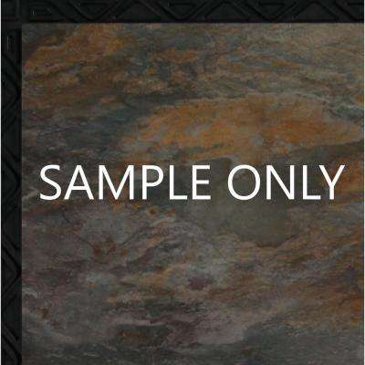 Take Home Sample - Ocean Shale Resilient Vinyl Plank Flooring - 18.5 in. x 9.25 in.