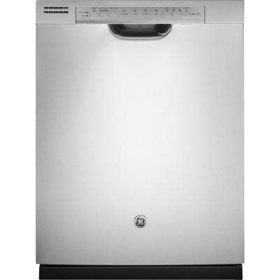 Front Control Built-In Tall Tub Dishwasher in Stainless Steel with Stainless Steel Tub and Steam Prewash