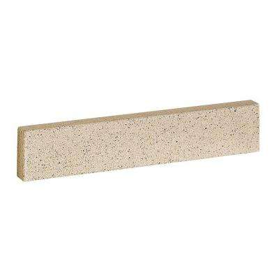 25 in. Solid Surface Technology Backsplash in Cappuccino