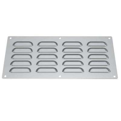 15 in. x 0.125 in. x 6.5 in. Stainless Steel Venting Panel