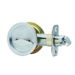 Admirable National Hardware Chrome Pocket Door Latch N326 298 The Interior Design Ideas Ghosoteloinfo