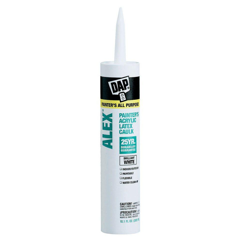 DAP Alex Oz Painters AllPurpose Acrylic Latex Caulk - Fast drying shower caulk