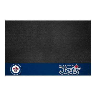 Winnipeg Jets 26 in. x 42 in. Grill Mat