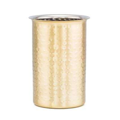 6-1/4 ft. Decor Champagne Hammered Tool Caddy