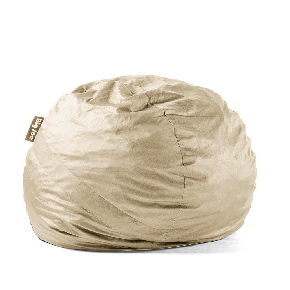 Large FUF Shredded Ahhsome Foam Oat Lenox Bean Bag