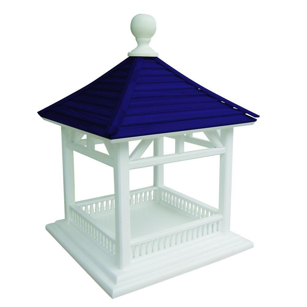 Home Bazaar Dark Blue Roof Dream House Feeder