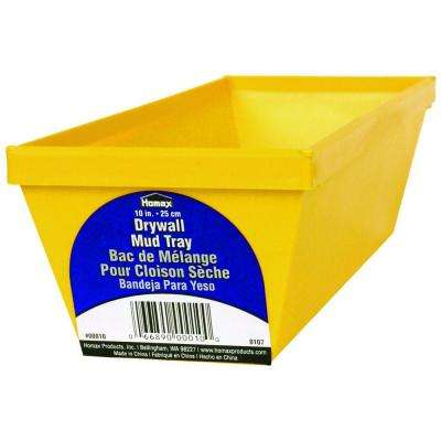 10 in. Polystyrene Drywall Mud Tray