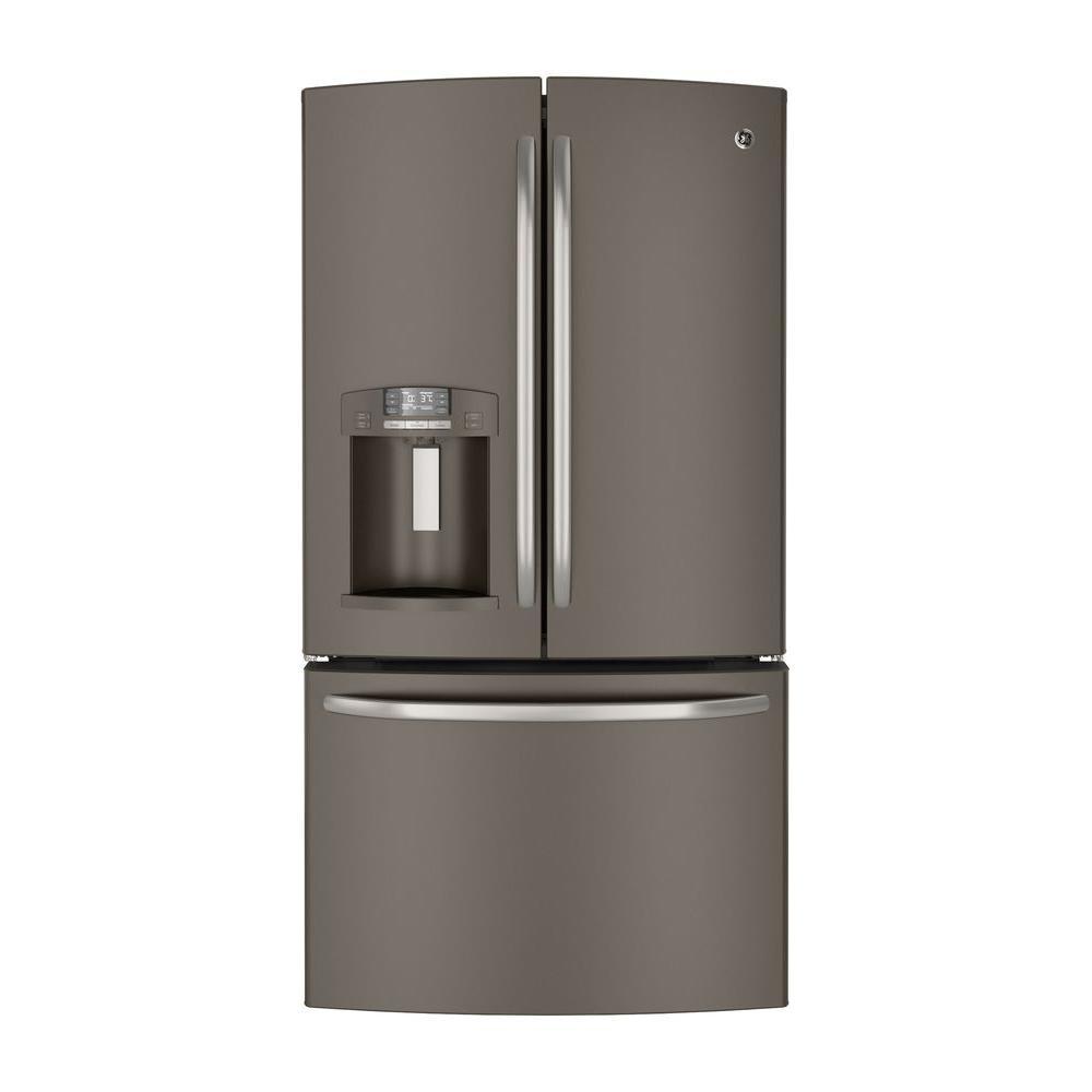 GE 27.7 cu. ft. French Door Refrigerator in Slate