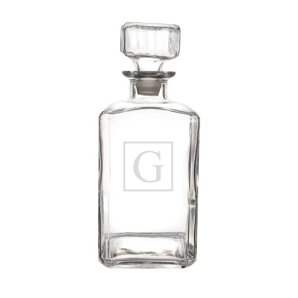 undefined Personalized Glass Decanter - G