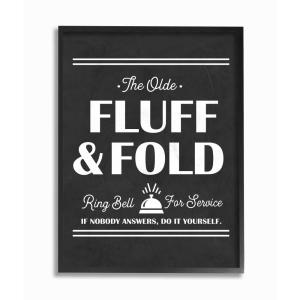 The Stupell Home Decor Collection 11 In X 14 In Olde Fluff And