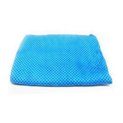 32 in. x 16 in. Cooling Towel in Blue