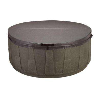 AR-200 Replacement Spa Cover - Walnut