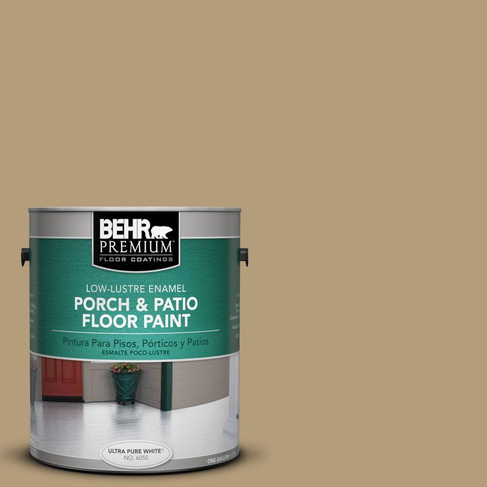 BEHR Premium 1 gal. #PFC-28 Desert Sandstone Low-Lustre Interior/Exterior Porch and Patio Floor Paint