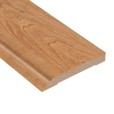 High Gloss Taos Cherry 1/2 in. Thick x 3-13/16 in. Wide x 94 in. Length Laminate Wall Base Molding
