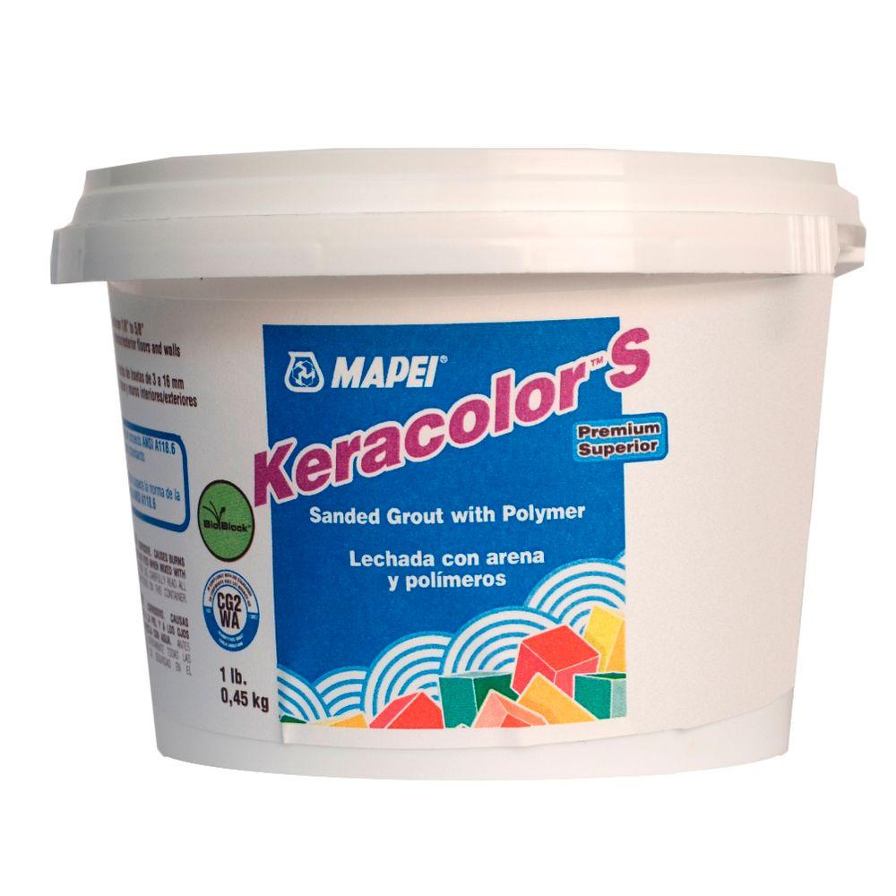 Mapei Keracolor Sanded #19 Pearl Gray 1 lb  Grout