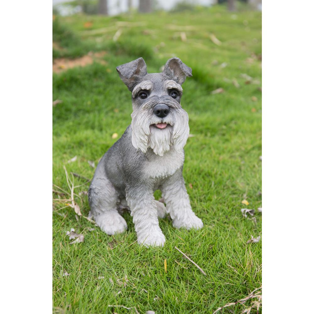 Hi Line Gift Grey Schnauzer 87983s Gy The Home Depot