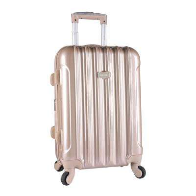 20 in. Expandable Hard Side Rolling Carry-On w/ Spinners Metallic (Kensie)