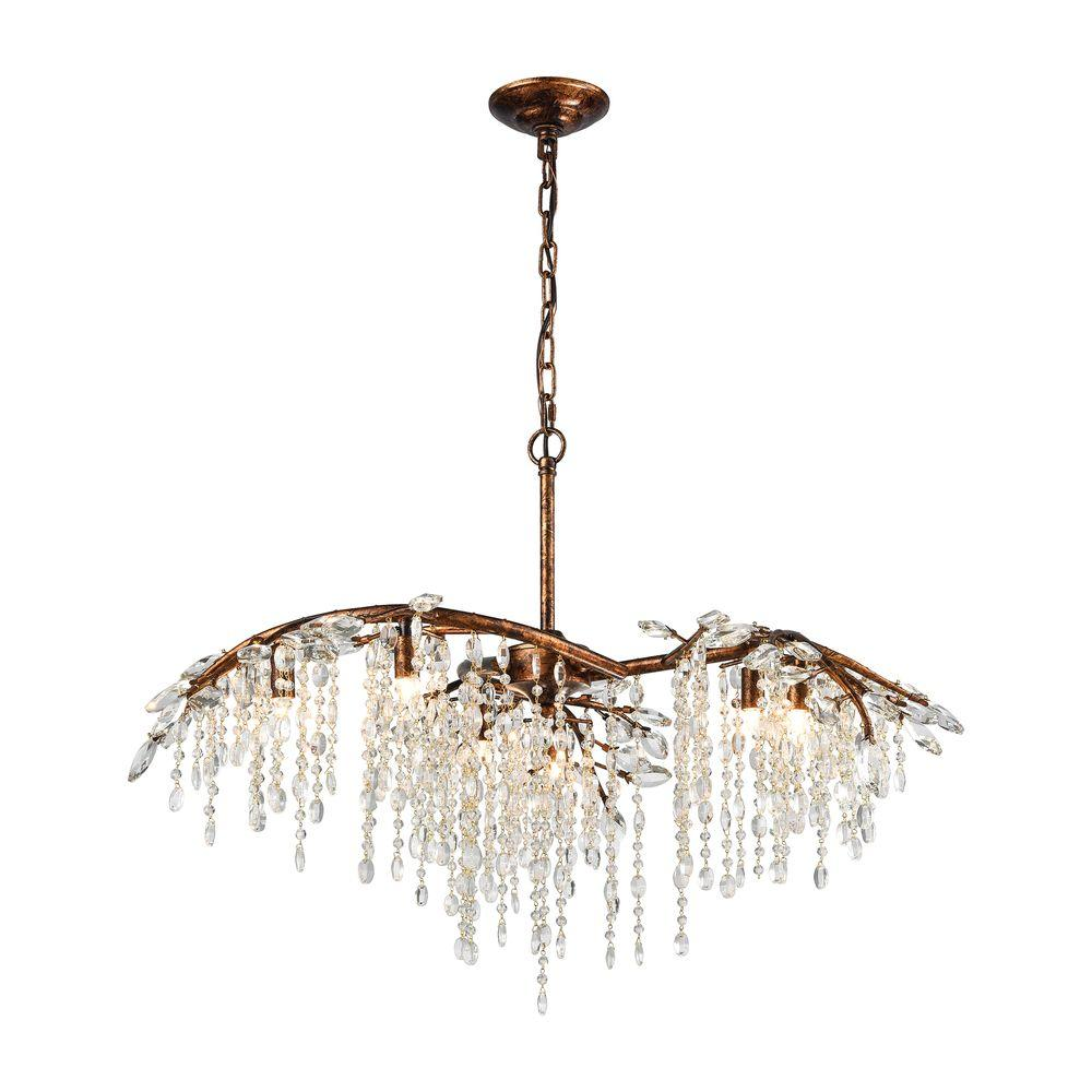 Titan lighting elia 6 light spanish bronze chandelier tn 75613 titan lighting elia 6 light spanish bronze chandelier aloadofball Choice Image