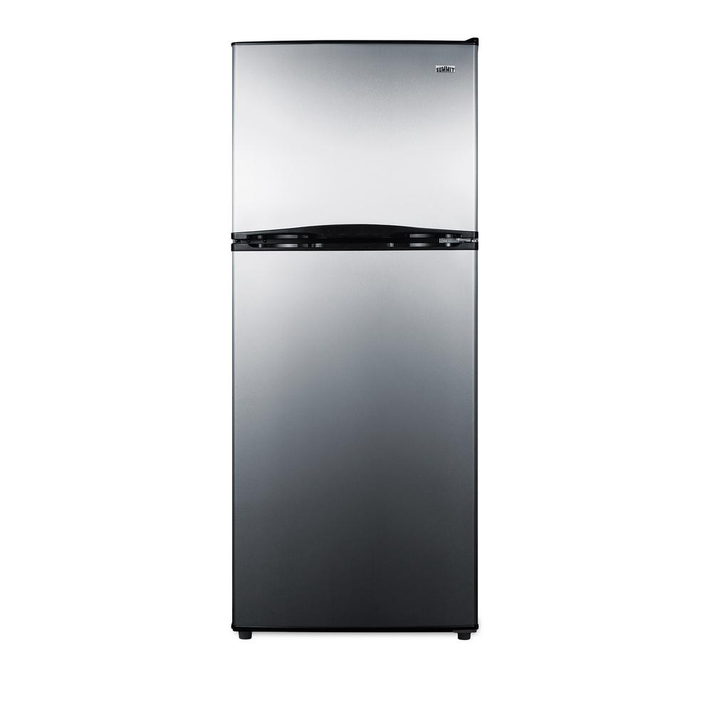 Stainless steel apartment size refrigerator | Refrigerators ...