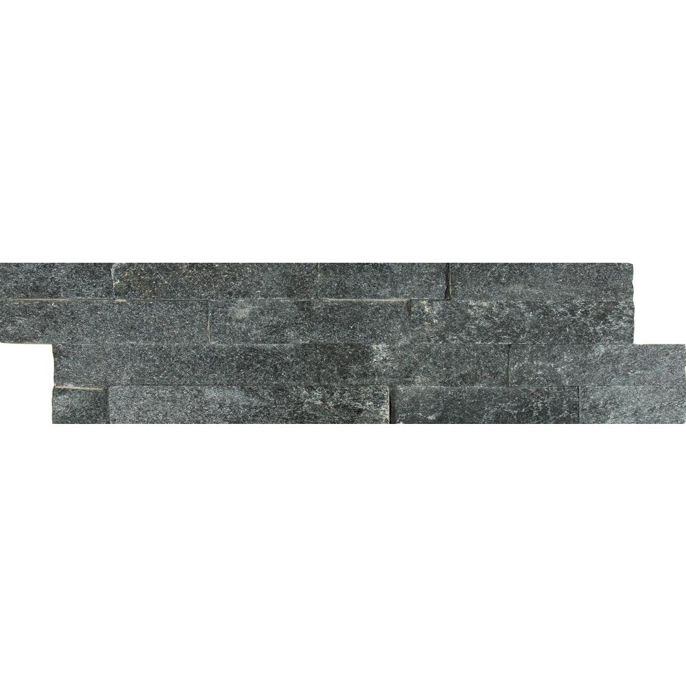 Slate tile natural stone tile the home depot coal dailygadgetfo Images