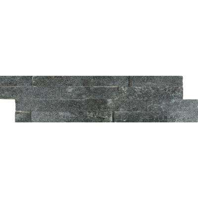 Coal Canyon Ledger Panel 6 in. x 24 in. Natural Quartzite Wall Tile (10 cases / 60 sq. ft. / pallet)